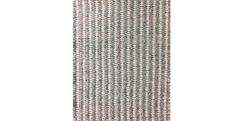 Lina - Strie Metallic White & Silver