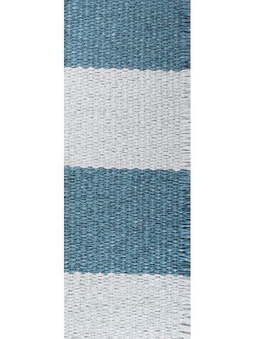Lina - Medium Blue & White