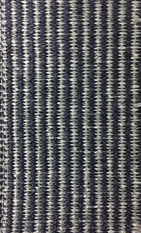 Lina - Strie Metallic Blue & Silver